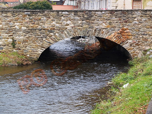 Stone bridge [Horazdovice, Czech]