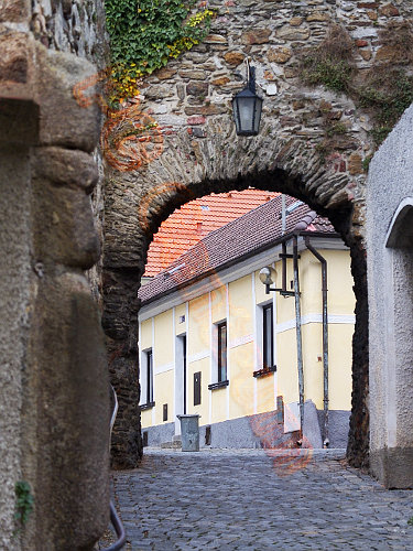 Town fortification [Horazdovice, Czech]